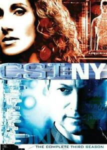 DVD SERIE CSI NEW YORK SAISON 3