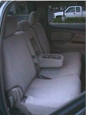 Durafit Seat Covers 2002-2006 Toyota Tundra D-Cab 40/60 Rear Exact Seat Covers