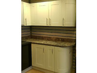 Re-location forces clearance sale of kitchen units, doors, worktop off-cuts, sinks, taps, handles