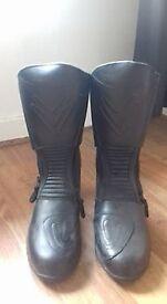 Frank Thomas Size 8 Motorbike Boots