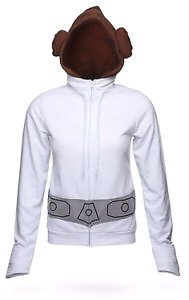 Princess leia hoodie with buns