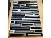Contemporary Carpet Set: 1x Large - 1x Small