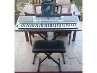 Yamaha Portable Grand Keyboard DGX 200