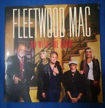 Fleetwood Mac - On With The Show 2015 tour book (only available in Europe)