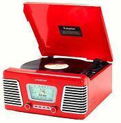 Red Retro Radio