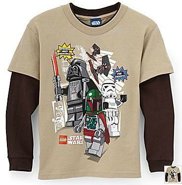 Lego Star Wars 'imperial Forces' T-shirt [size 5-6]
