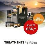 TREATMENTS® giftbox incl. dagje wellness voor 2 personen