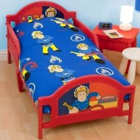 Fireman Sam junior bed with mattress