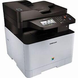 Samsunf x[ewaa C1860Fq Laser colur printer, fax,c opy, ndcm USB ...