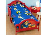 Fireman Sam junior bed