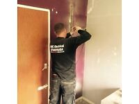 Electrician large or small jobs domestic commercial, cooker repairs showers sockets lights belfast