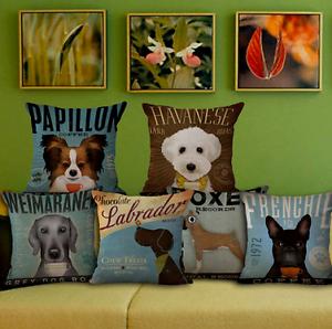 Cute Advertising Brand Coffee Dogs Sofa Cushion Pillow Cover Case Northcote Darebin Area Preview
