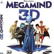 3D Movies Blu Ray Megamind