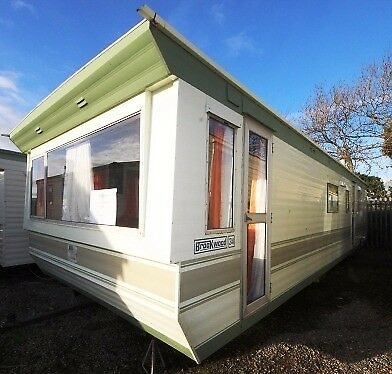 Cute & Competitively Priced BK Brookwood 34 x 10 Static Caravan