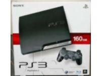 PlayStation 3 160gb + Cod:advanced warfare