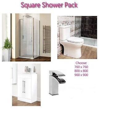 Complete Shower Room/Bathroom Suite