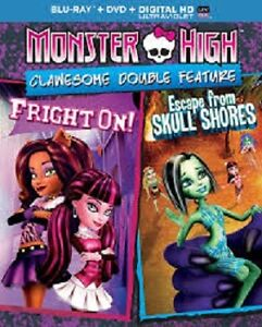 Lot 4 films Monster High