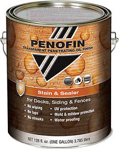 PENOFIN STAIN AND SEALER FOR DECKS-FENCES