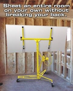 CERTIFIED DRYWALL PANEL LIFT FOR RENT