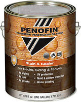 PENOFIN STAIN AND SEALER FOR DECKS AND FENCES