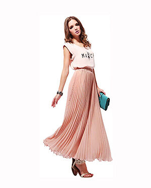 How to Wear Maxi Pleated Skirts | eBay