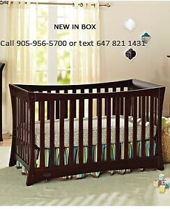 Graco Tatum 4-in-1 Convertible Crib-Espresso