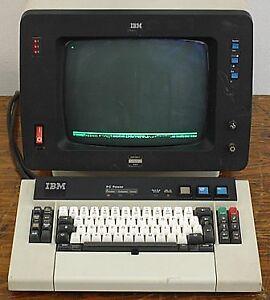 Vintage IBM computers and keyboards