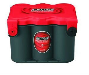 Batterie OPTIMA 12 V.  78 BCI  Couvert rouge
