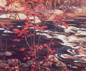 "Limited Edition ""The Red Maple"" by A.Y. Jackson"