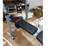 York B540 Heavy Duty Bench weight and exercise bench
