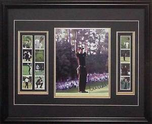 """Mike Weir Putting, Signed Photo w/Stamps  8"""" x 10"""" Photo COA London Ontario image 1"""
