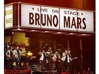 BRUNO MARS tickets - MANCHESTER ARENA - both nights available - you choose what night/what qtys