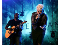 EMELI SANDE (FRONT ROW SEATS) BLOCK 101 (OFFICIAL PLATINUM SEATS) O2 ARENA - OCT 18TH