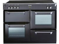 Stoves Richmond 1000Ei 100cm Electric Range Cooker with Induction Hob - Black Ex Display