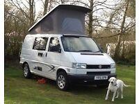 VW Transporter Leisuredrive elevating roof camper in Essex