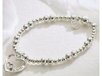 Double Heart Friends Bracelet
