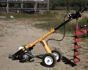 "Post Hole Auger / Digger [Including 6"" & 8"" auger bits] *Towable"