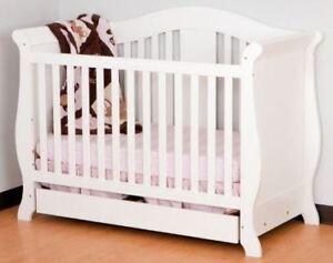 Crib White Storkcraft 3-in-1