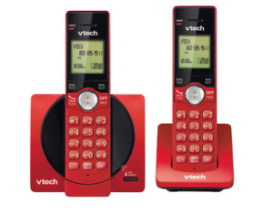Vtech-2 Handset Cordless Phone with Caller ID/Call Waiting