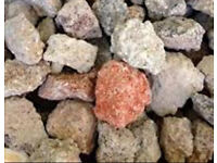Recycled 40-75mm Crushed Brick & Stone Material