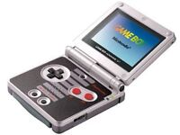 Special edition nes version gameboy advance sp