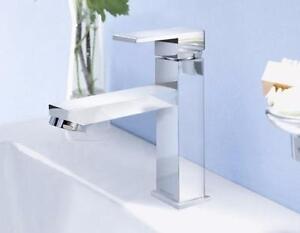 Robinet mitigeur pour salle de bain, finition en chrome, monotrou, Neuf En Boite