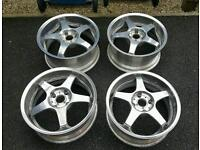 "Enkei k95 17"" alloys wheels"