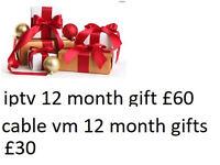 1 year gifts zgemma skybox mag box 250 254 256 cable amiko mutant evo viper