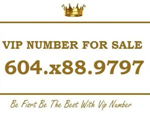 VIP  604 NUMBER FOR SALE 604.X88.9797