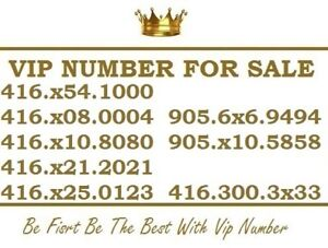 416 / 905 / 647 VIP EASY TO REMEMBER PHONE NUMBERS FOR SALE