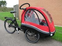 Winther Kangaroo luxe electric cargo bike