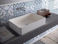 *** BRAND NEW *** Bathstore Karl Rectangular Washbowl Butlers Sink