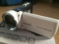 NAM-Gear NC5162 Full HD 1080 Camcorder (White)