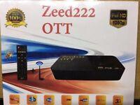 Zeed222 OTT online IPTV Box more than 2300 channel free